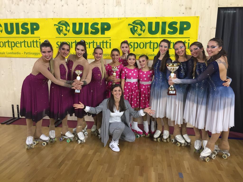 Drama Queens & Ethereal vice campionesse regionali UISP 2018!