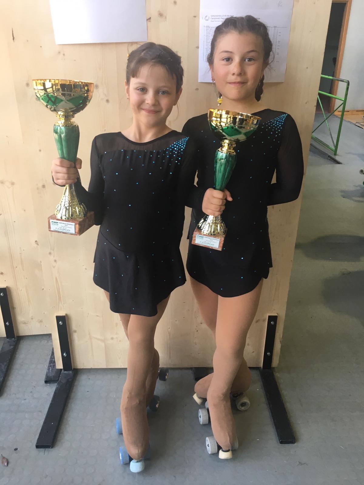 Sofia e Letizia campionesse regionali Uisp!!
