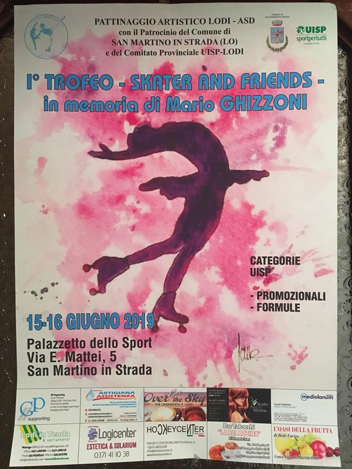 I°TROFEO SKATERS AND FRIENDS in memoria di MARIO GHIZZONI